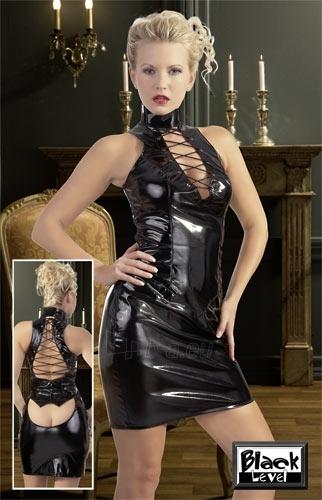 Vinyl Dress with Lacing Paveikslėlis 1 iš 1 30086600009
