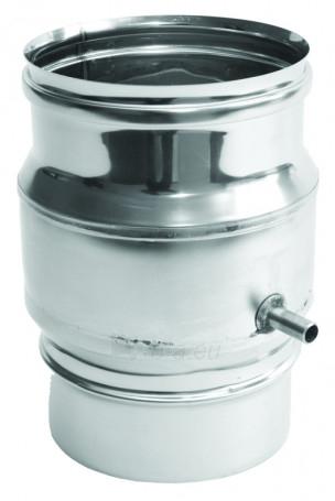 Virš., kondensato rinktuvas NP, d=100 mm Paveikslėlis 1 iš 1 30005601194