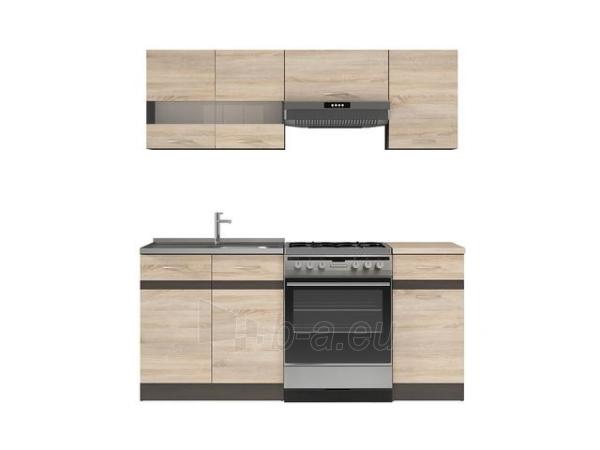 Virtuvės komplektas Junona 180 ąžuolas sonoma Paveikslėlis 2 iš 4 310820212364