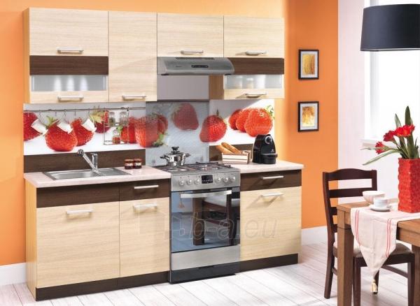 Kitchen Set Modena  Facade Colour Rijeka Sviesi Rijeka Tamsi Paveikslelis