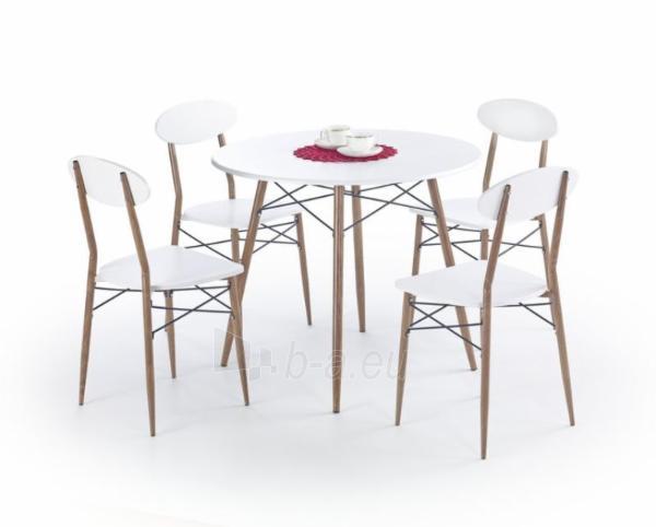 Virtuvės stalas su kėdėmis Record apvalus Paveikslėlis 1 iš 1 310820015374