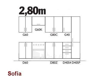 Komplektas Sofia (2,80 m) Paveikslėlis 2 iš 2 250451000085