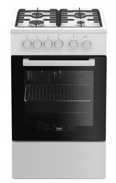 Oven Gas electric-cooker Beko FSM52020DWD | 50cm Paveikslėlis 1 iš 1 310820146094