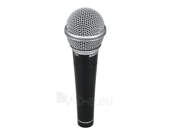 Vokalinis/prezentacijų mikrofonas SAMSON R21S XLR 3vnt. cardioid gold-plated XLR Paveikslėlis 1 iš 4 310820024249
