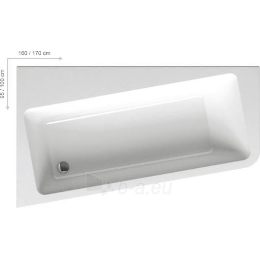 Vonia 10° 160/170cm Paveikslėlis 4 iš 4 270716001264