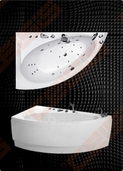 Vonia BALTECO Idea 170x100 cm dešinė, su oro ir vandens masažu Combi S4 su apdaila E15 Paveikslėlis 1 iš 4 270716001001