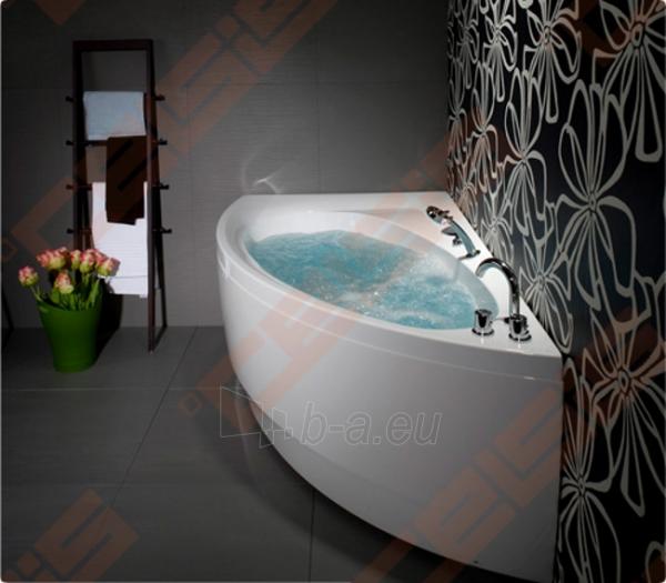 Vonia BALTECO Idea 170x100 cm dešinė, su oro ir vandens masažu Combi S4 su apdaila E15 Paveikslėlis 2 iš 4 270716001001