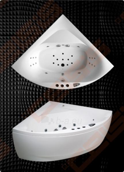 Vonia BALTECO Linea 150x150 cm, su vandens masažu SlimLine Hydro S11 ir apdaila E17 Paveikslėlis 1 iš 4 270716001008
