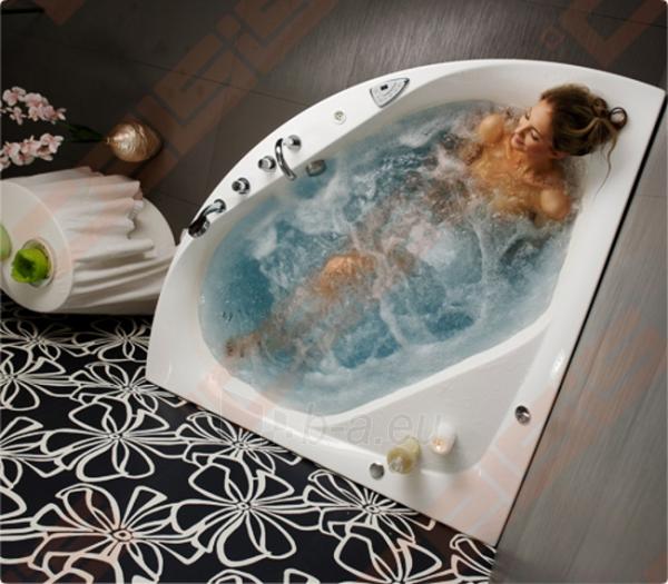 Vonia BALTECO Linea 150x150 cm, su vandens masažu SlimLine Hydro S11 ir apdaila E17 Paveikslėlis 2 iš 4 270716001008