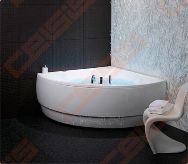 Vonia BALTECO Metro 155x155 cm, su vandens masažu Hydro S3 ir apdaila E17 Paveikslėlis 2 iš 3 270716001010
