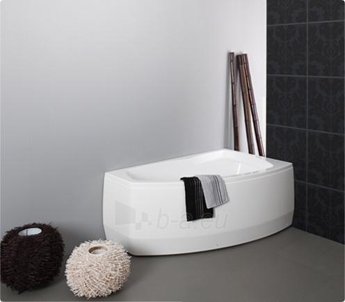Vonia BALTECO Rhea 160x100 cm kairė, su oro bei vandens masažu Combi S4 ir apdaila E16 Paveikslėlis 2 iš 4 270716001020