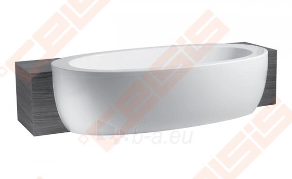 Vonia LAUFEN Alessi One 204x102 cm, dalinai įmontuojama Paveikslėlis 1 iš 2 270716001095