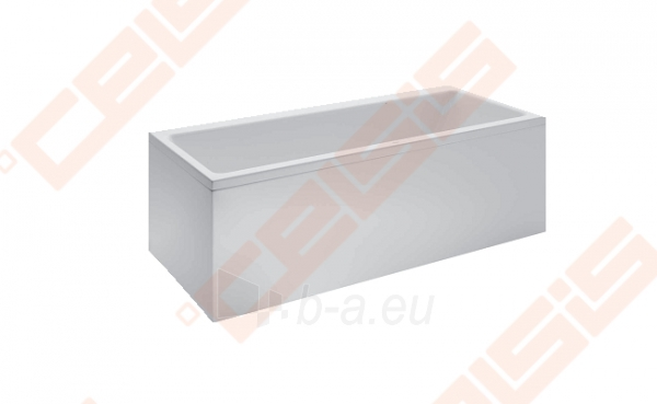 Vonia LAUFEN Pro 170x70 cm, statoma į dešinį kampą su L formos apdaila Paveikslėlis 1 iš 2 270716001141
