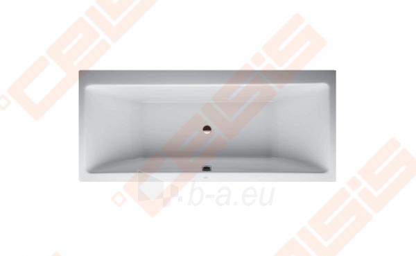 Vonia LAUFEN Pro 180x80 cm, laisvai statoma su rėmu Paveikslėlis 1 iš 1 270716001146