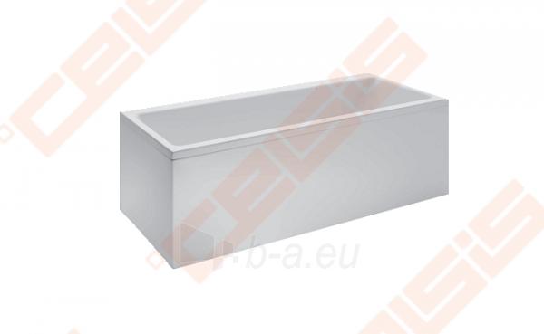 Vonia LAUFEN Pro 180x80 cm, statoma į dešinį kampą su L formos apdaila Paveikslėlis 1 iš 2 270716001147