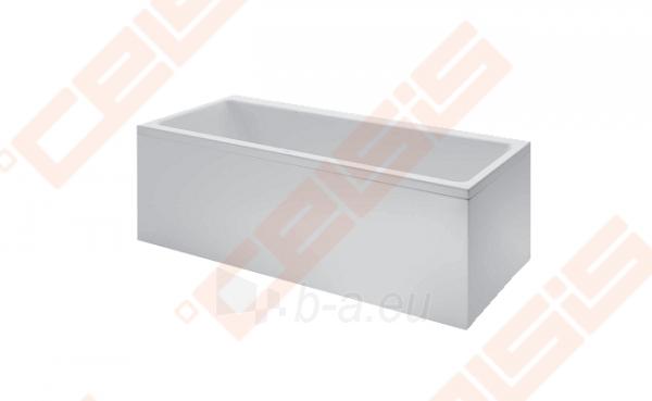 Vonia LAUFEN Pro 180x80 cm, statoma į kairį kampą su L formos apdaila Paveikslėlis 1 iš 2 270716001148