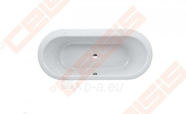 Vonia LAUFEN Solutions 180x80 cm, ovali įleidžiama Paveikslėlis 1 iš 2 270716001156