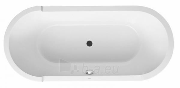 Oval vonia, 180x80 cm, balta Paveikslėlis 1 iš 1 270716000879