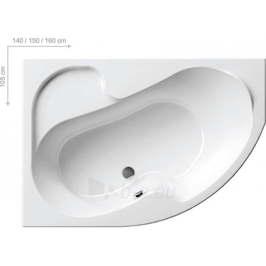 Vonia Ravak Rosa I 140x105 L/R Paveikslėlis 4 iš 5 270716000833