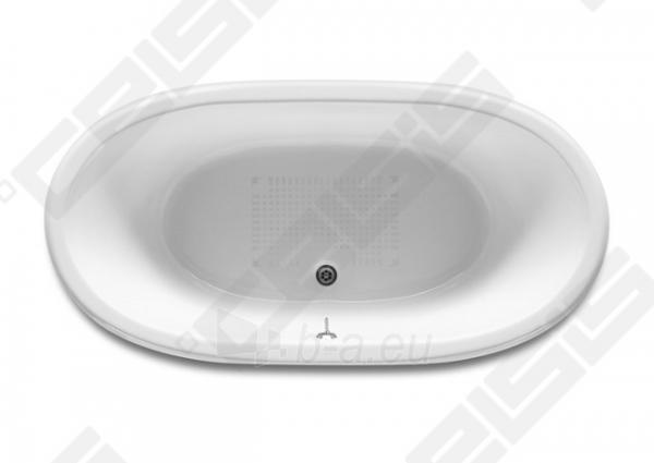 Vonia ROCA Newcast 170x85 cm, balta Paveikslėlis 2 iš 6 270716001184
