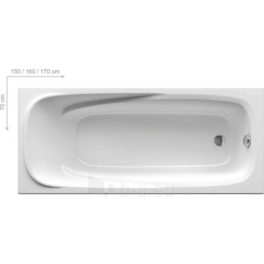 Vonia Vanda II 150/160/170X70cm Paveikslėlis 4 iš 5 270716001280
