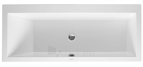 Bathtub Vero 1700x750mm white,1 slope left, buil Paveikslėlis 1 iš 1 270716000888