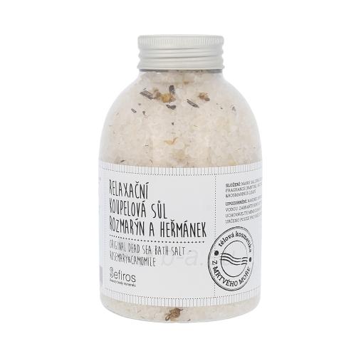 Vonios druska Sefiros Original Dead Sea Bath Salt Rosemary & Camomile Cosmetic 500g Paveikslėlis 1 iš 1 310820015313