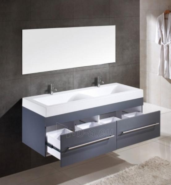 Vonios kambario baldų komplektas su dvigubu praustuvu 1001 Paveikslėlis 1 iš 4 30057400065