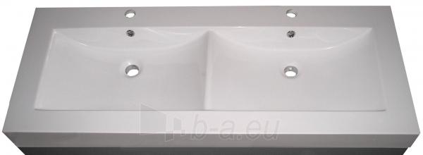 Vonios kambario baldų komplektas su dvigubu praustuvu 1001 Paveikslėlis 4 iš 4 30057400065