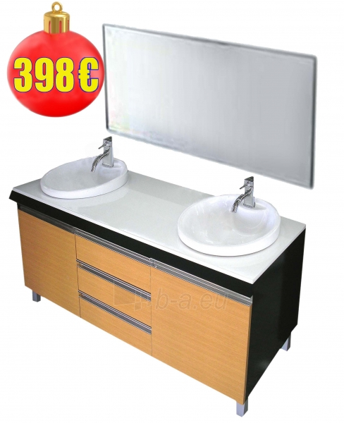bathroom room furniture set with washer 4430 Paveikslėlis 3 iš 4 30057400067
