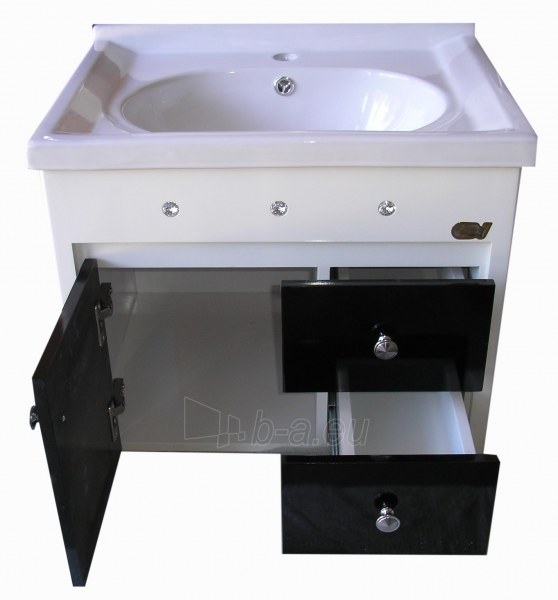 Vonios kambario baldų komplektas su praustuvu 2076 Paveikslėlis 10 iš 11 30057400167