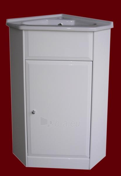 Vonios kambario kampinė spintelė su praustuvu 5005 D50 Paveikslėlis 2 iš 6 270760000141