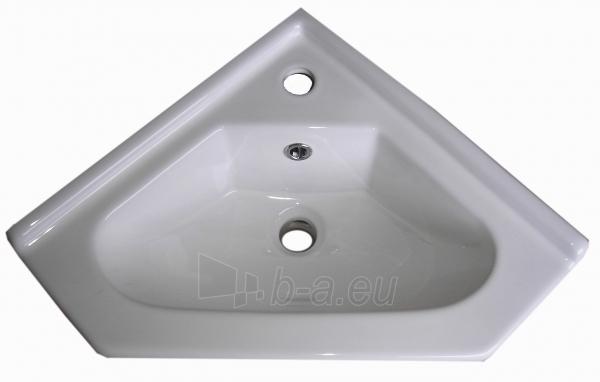 Vonios kambario kampinė spintelė su praustuvu 5005 D50 Paveikslėlis 3 iš 6 270760000141