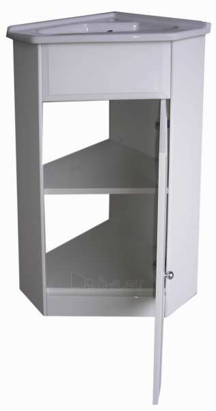 Vonios kambario kampinė spintelė su praustuvu 5005 D50 Paveikslėlis 4 iš 6 270760000141