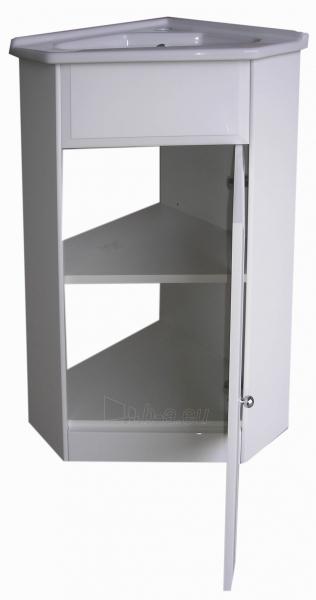 Vonios kambario kampinė spintelė su praustuvu 5005 D50 Paveikslėlis 5 iš 6 270760000141