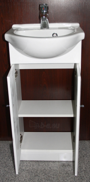 Vonios kambario spintelė su praustuvu 4001 D40 Paveikslėlis 4 iš 5 270760000142