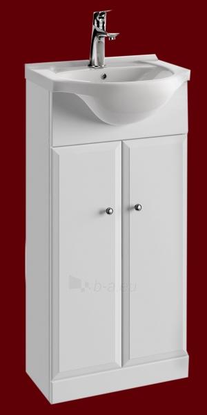 Vonios kambario spintelė su praustuvu 4001 D40 Paveikslėlis 5 iš 5 270760000142