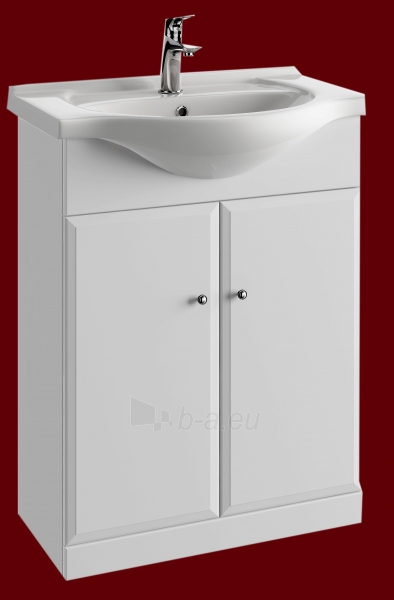 Vonios kambario spintelė su praustuvu 5501 D55 Paveikslėlis 3 iš 3 270760000145