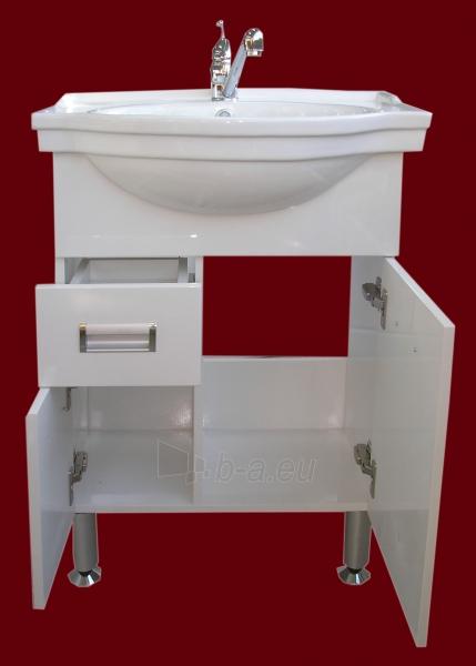 Vonios kambario spintelė su praustuvu A203 Paveikslėlis 7 iš 7 30057400192
