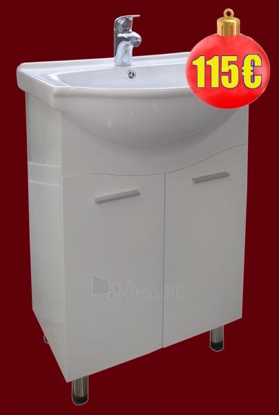 Vonios kambario spintelė su praustuvu C21 Paveikslėlis 4 iš 6 30057400102