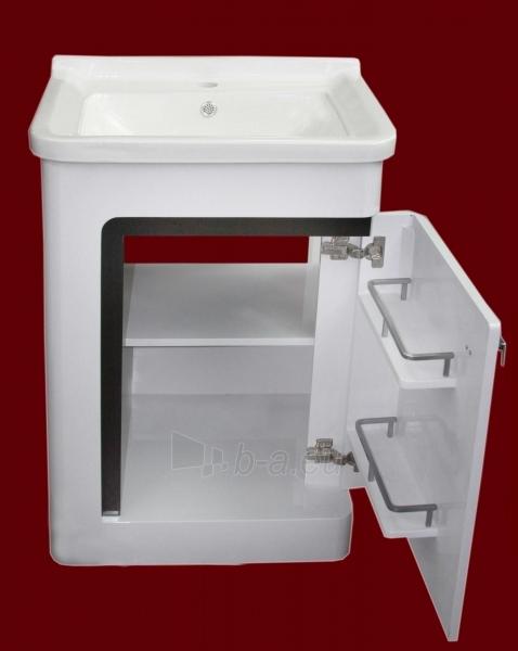 Vonios kambario spintelė su praustuvu C531 (be veidrodžio) Paveikslėlis 4 iš 7 30057400202