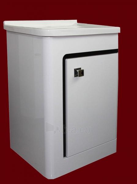 Vonios kambario spintelė su praustuvu C531 (be veidrodžio) Paveikslėlis 1 iš 7 30057400202