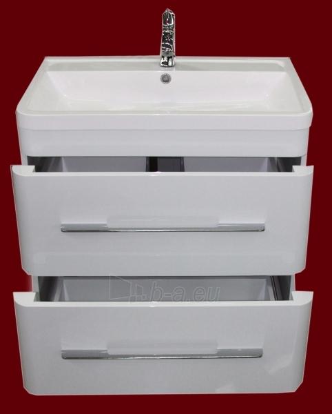 Vonios kambario spintelė su praustuvu C602F (be veidrodžio) Paveikslėlis 4 iš 6 30057400203