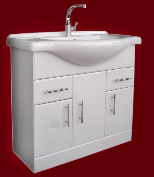 Vonios kambario spintelė su praustuvu D85 Paveikslėlis 1 iš 7 30057400209