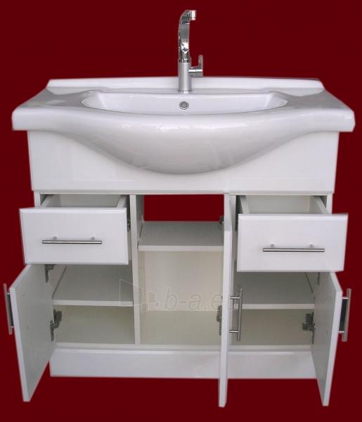 Vonios kambario spintelė su praustuvu D85 Paveikslėlis 7 iš 7 30057400209