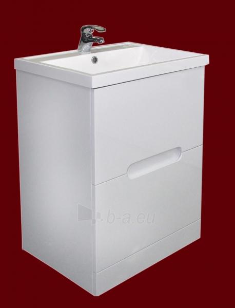 Vonios kambario spintelė su praustuvu F602FS (be veidrodžio) Paveikslėlis 1 iš 3 30057400211