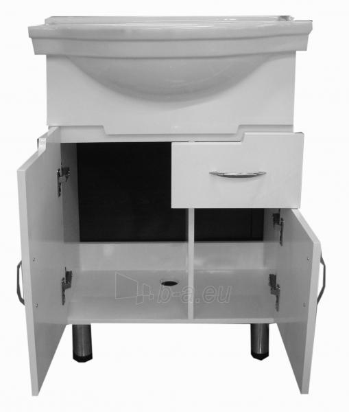 Vonios kambario spintelė su praustuvu M023 Paveikslėlis 2 iš 5 30057400107
