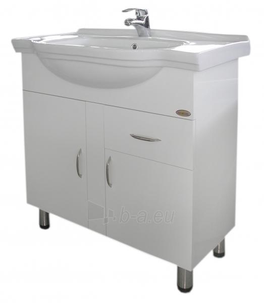 Vonios kambario spintelė su praustuvu M027 Paveikslėlis 2 iš 6 30057400108
