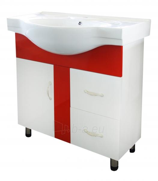 Vonios kambario spintelė su praustuvu M027 Paveikslėlis 1 iš 6 30057400108
