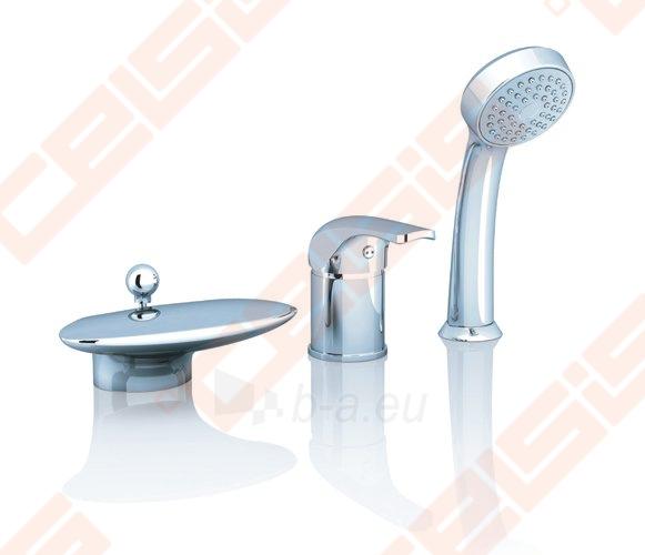 Vonios maišytuvas RAVAK Rosa RS025.00 iš vonios krašto Paveikslėlis 1 iš 4 270725000425